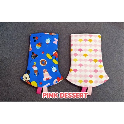 PRINTED TEETHING PAD - ICE CREAM THEME
