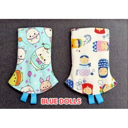 PRINTED TEETHING PAD - BLUE THEME