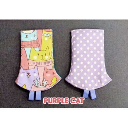 Printed Teething Pad - Cat Theme