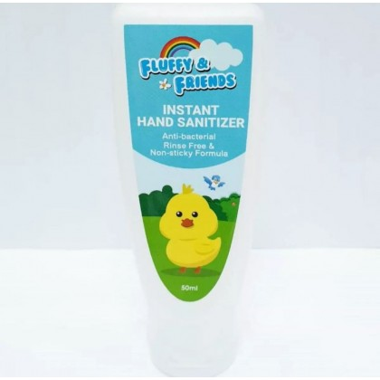Hand sanitizer 50ml / 70% Alcohol - Fluffy & Friends (GMP & ISO Certified)