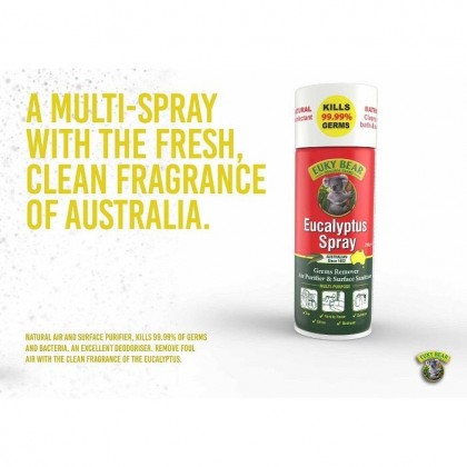 EUKY BEAR EUCALYPTUS SPRAY (SURFACE SANITIZER KILLS 99.9% GERMS)