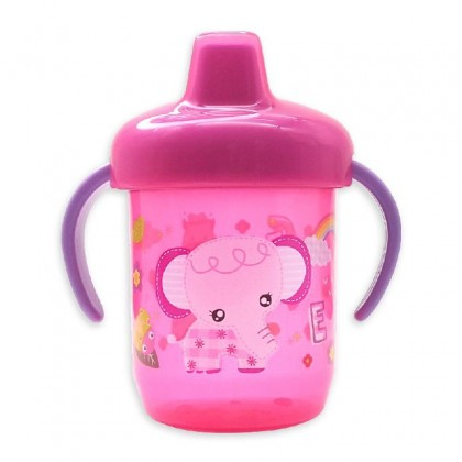 Baby Drinking Spout 250ml Cup Basic Training With Holder - BEE SON