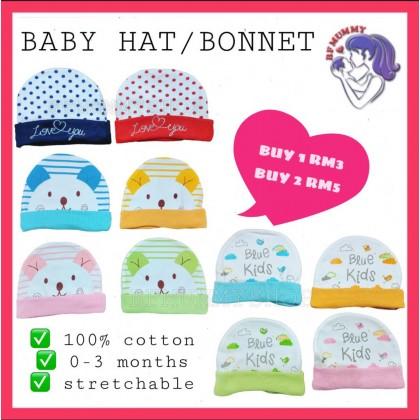 BABY HAT/BONNET/CAP 100% COTTON