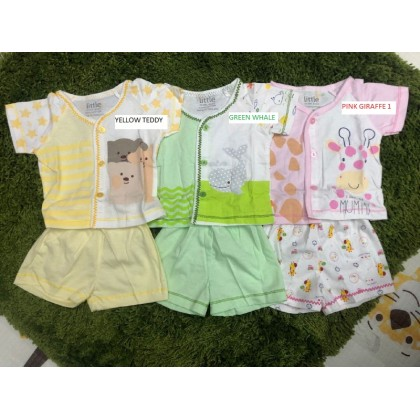 NEW BORN CLOTHING DAY SET 2 - LITTLE BABY
