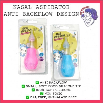 NASAL ASPIRATOR WITH ANTI BACKFLOW/PENYEDUT HINGUS BAYI - BEE SON