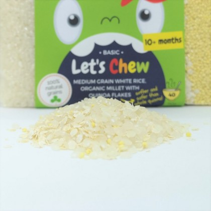 LITTLE BABY GRAINS - LET'S CHEW (FROM 10 MONTHS)