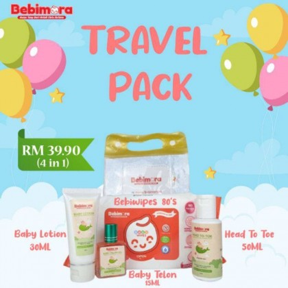 BEBIMORA TRAVEL PACK (4 IN 1)