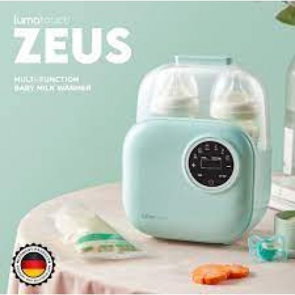 LUMATOUCH ZEUS MULTI-FUNCTION BABY MILK WARMER - 1 YEAR WARRANTY
