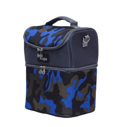 ALLEGRA RYAN BLUE DOUBLE MAXI COOLER BAG