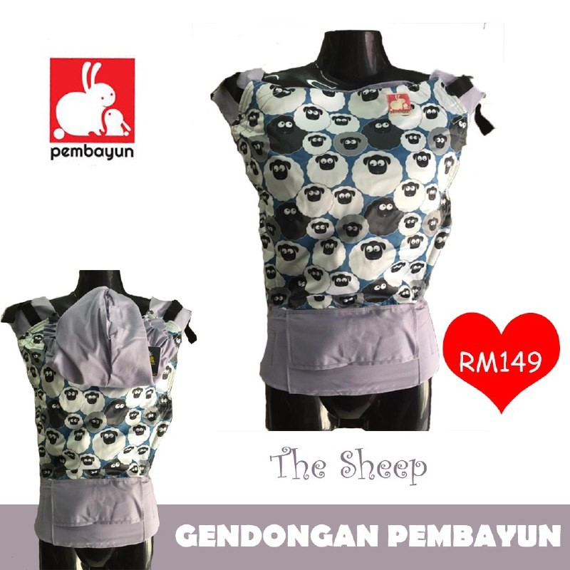 Soft Structure Carrier Pembayun Standard The Sheep