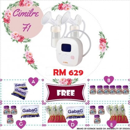 CIMILRE F1 DOUBLE RECHARGEABLE BREASTPUMP